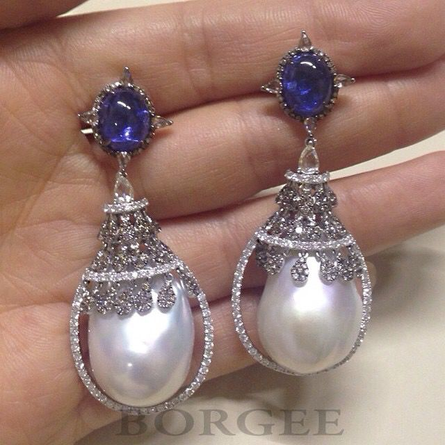 Sapphires, Diamonds and Pearls