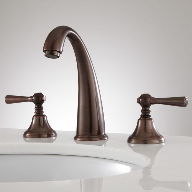 breda widespread faucet lever handles - Kohler Armaturen L Eingerieben Bronze