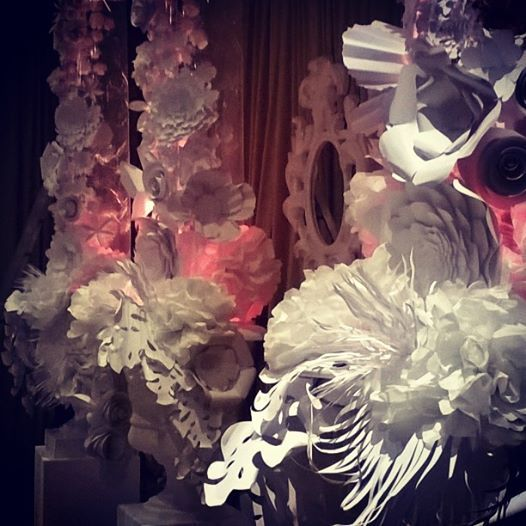 Floral paper installation at Thaba Eco hotel. #paperinstallationart #flowers #paperflowers #art #beautiful