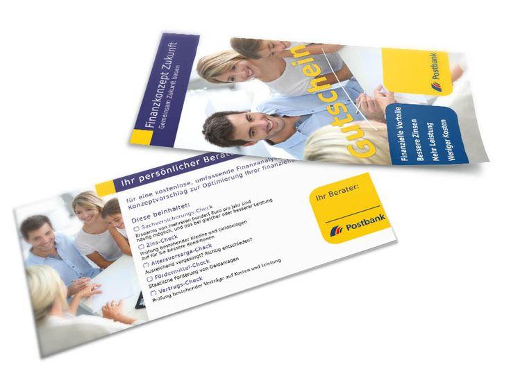 Beratungsgutschein für die Postbank Finanzberatung