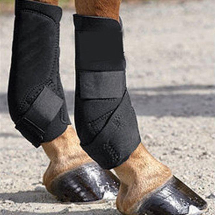 42.99$  Watch now - http://alimai.worldwells.pw/go.php?t=32770521742 - Harness horse Kneepad bandage hoof care Leggings leg bandage protectors Equestrian Horse knee equipment accessories 42.99$