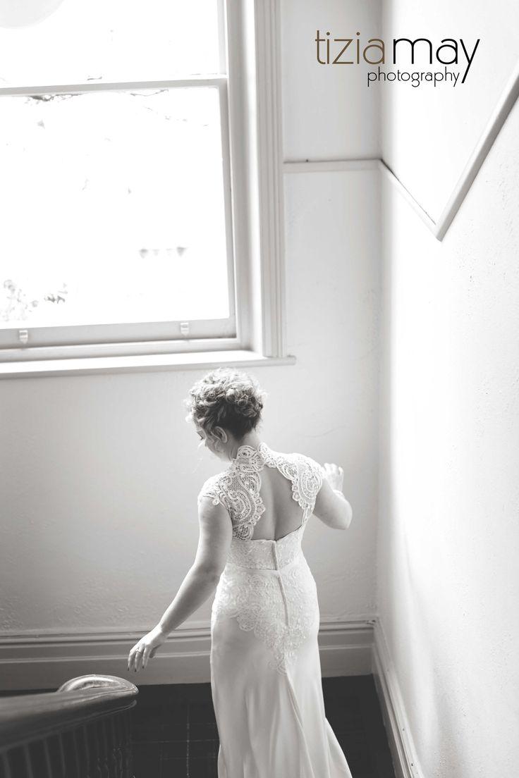 Amanda wearing custom designed Rose Zurzolo Couture