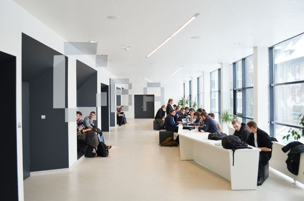 Auditoriums A, B, C at Silesian University of Technology in Gliwice by ZALEWSKI ARCHITECTURE GROUP
