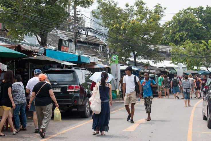 Chatuchak Markt, Bangkok - the world's biggest outdoor market!