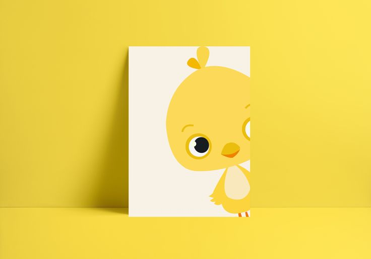 Animal poster for kidsroom or nusery