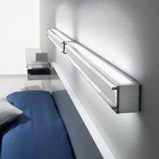 Woody D250 applique a parete a LED a barra design moderno
