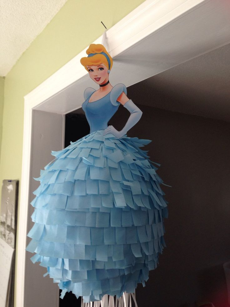 Disney Princess Piñata Cinderella by BobbiGirlBoutique on Etsy