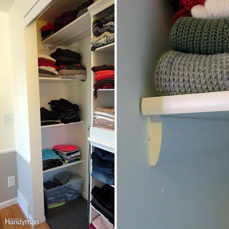 11 clothes storage ideas to transform your closet for Transform small closet space