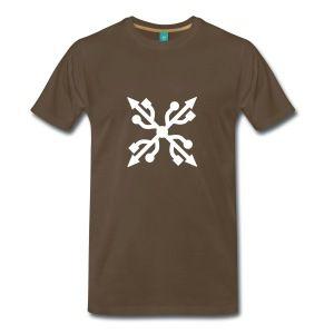 USB Cross nerd geek Bags  - Men's Premium T-Shirt