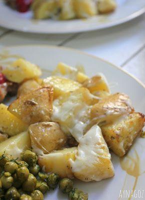 AynaGöz.: Mayonezli Fırın Patatesler