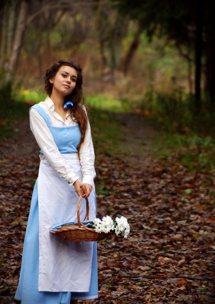 belle cosplay! one of the few princesses who's a real girl. and bookworm!