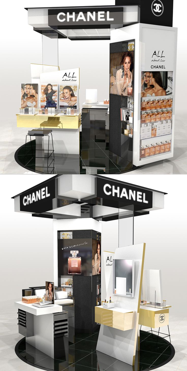 Printemps Haussmann animation Coco Masemoiselle // project in collaboration with CHANEL Direction Artistique.