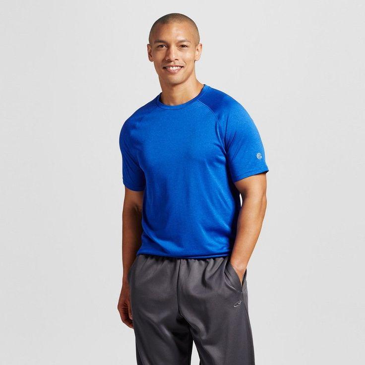 Men's Tech T-Shirt Omni Blue XL - C9 Champion