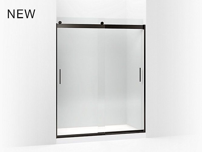 Kohler Frameless Sliding Shower Doors Shower Remodel Small Shower Remodel