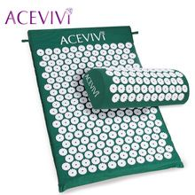 ACEVIVI Massager cushion Acupressure Mat Relieve Stress Pain Acupuncture Spike Yoga Mat with Pillow Drop shipping 31 //Price: $US $19.88 & FREE Shipping //