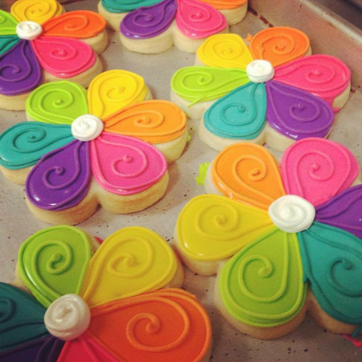 Rainbow cookies....