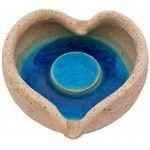 Greek Ceramic Art - Ashtray Heart