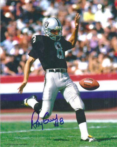 Ray Guy Oakland Raiders Photographs