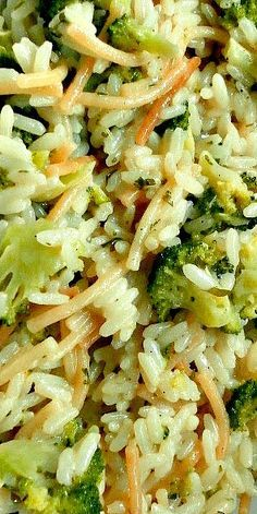 Homemade Broccoli Au Gratin Rice a Roni ❊