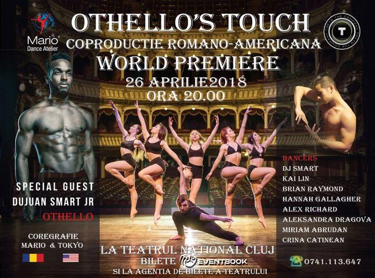 """CONCURS clujescu.ro. Nu rataţi şansa de a câştiga bilete la spectacolul de dans """"Othello's Touch""""!"""