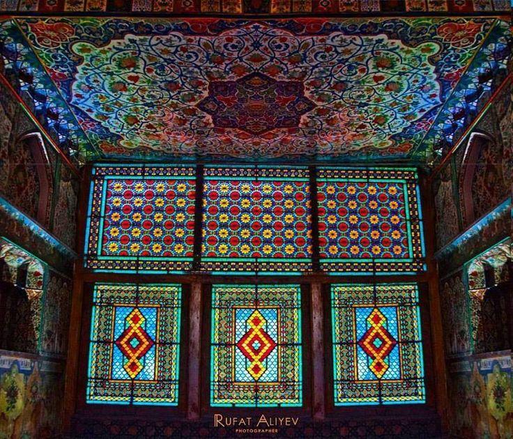 A Summer Residence For The Shaki Khans Was Built In 1797 By Muhammed Hasan Khan Azerbajdzhan Islamic Architecture Islamic Art Shaki