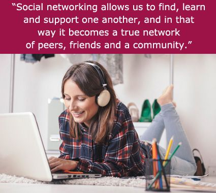 """Social networking allows us to find, learn and support one another, and in that way it becomes a true network of peers, friends and a community."" An Interview with Jenny Luca"