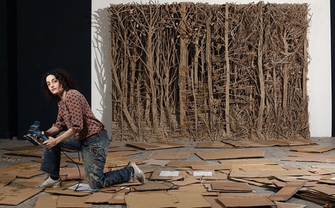 Eva Jospin | Enchanted forests sculpted entirely from cardboard | Creative Boom