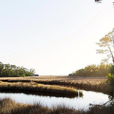 Pascagoula River, Ocean Springs, Mississippi. America's largest national seashore practically surrounds Ocean Springs. | Coastalliving.com