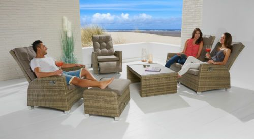 details zu sitzgruppe garnitur gartenmöbel poly rattan lounge set, Garten und Bauen
