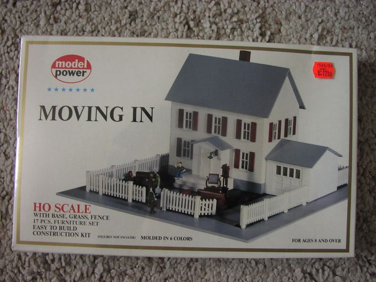 Model power ho scale railroad moving in model railroad Scale model furniture