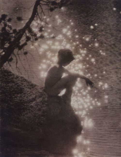 Anne Brigman  Stardust, circa 1910  Gelatin silver print  From A Poetic Vision: The Photographs of Anne Brigman