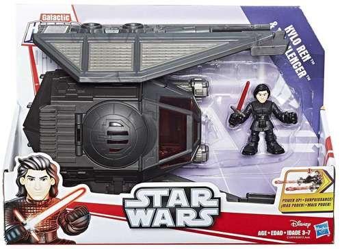 Kylo Ren & Tie Silenceer Vehicle Galactic Heroes Star Wars