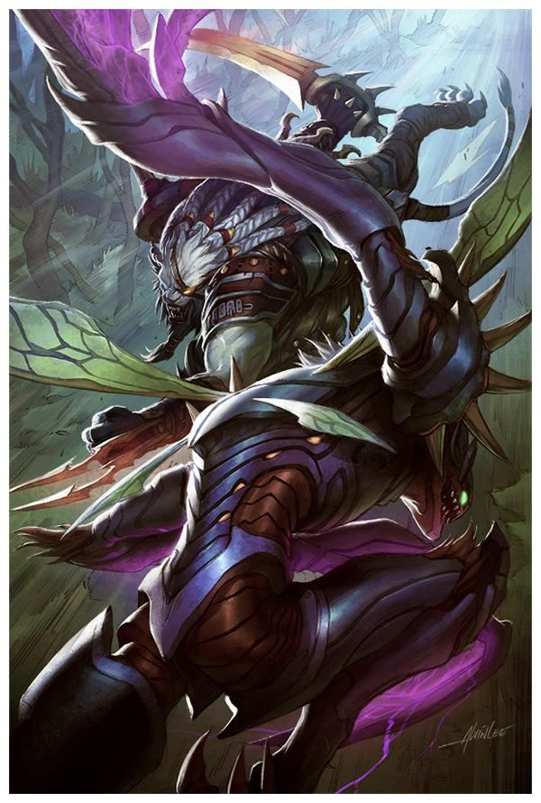 1000+ images about Art - LoL, Rengar, KhaZix on Pinterest ...