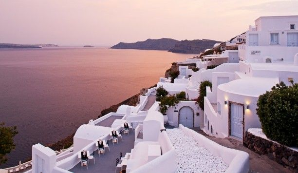 Favorite place in Greece Canaves Oia Hotel (Santorini, Greece) - #Jetsetter