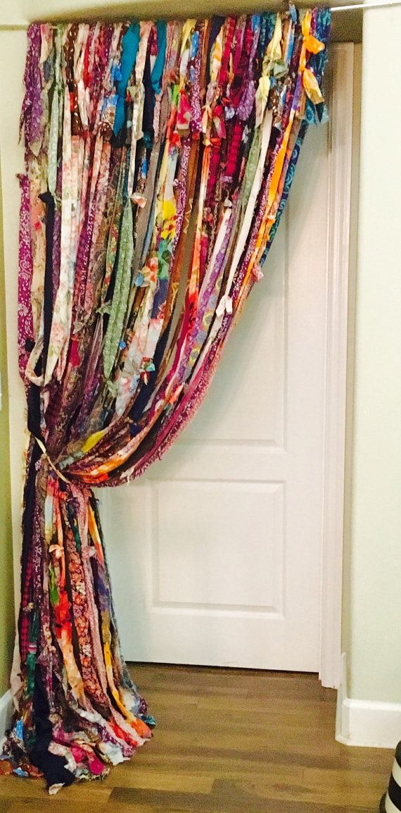 boho gypsy curtains - Boho Decor