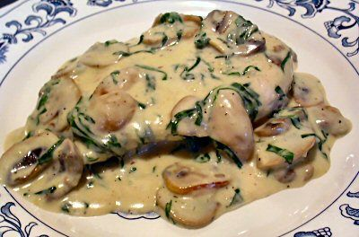 Click to see a close-up chicken alfredo florentine, hundreds of recipes for low carb