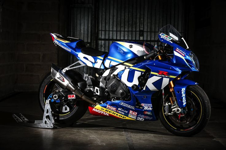Suzuki Endurance Racing Team # 1 Motorcycle: Suzuki GSX-R 1000 Tyres: Dunlop Class: Formula EWC ...
