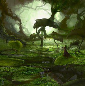 paisagem fantasia