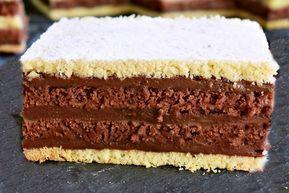 Prăjitura bicoloră. Un desert de senzație care va face furori la mesele aniversare, sau de sărbători!