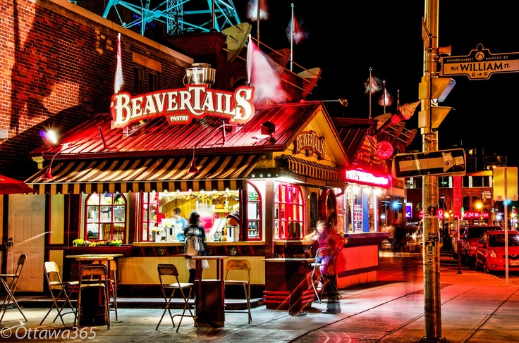 """Ottawa seen 365 ways in 365 days: 100 - """"What is More Ottawa than BeaverTails?"""" as seen in the Byward Market"""
