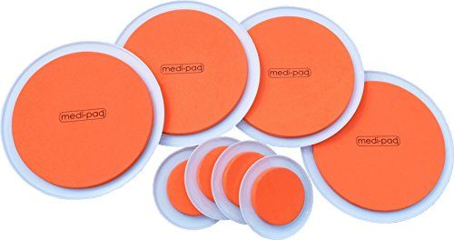 Greatideas The Super Furniture Sliders Genuine Original Orange Discs By Medipaq Moving Heavy Furniture Has Never Been Easier 8 Piece Value Pack Sliders Office File Cabinets Furniture