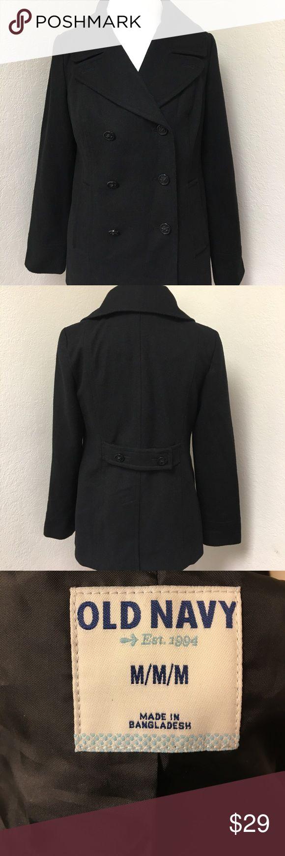 Black Old Navy Pea Coat Like new! Casual, black, Old Navy pea coat! Great condition. Item #51. Old Navy Jackets & Coats Pea Coats