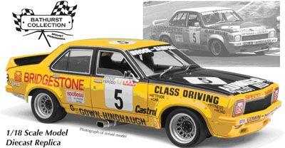 Peter Brock/B Sampson, Holden L34 Torana Bathurst Winner 1975