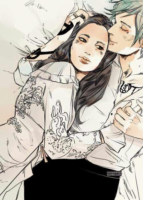 Tessa Grey e Jem Carstairs. TID.