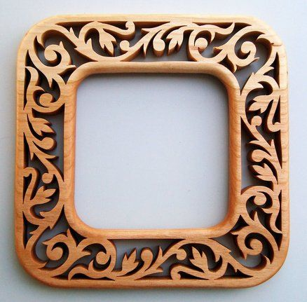 Three 'Matching' Victorian Fretwork Picture Frames