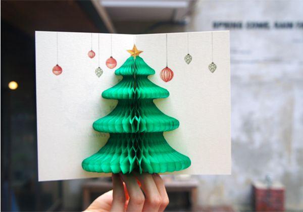 POP-UP CARD - MERRY CHRISTMAS from Camélia