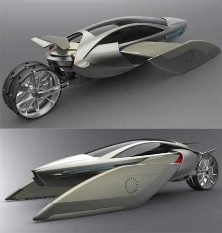 High-Tech 360: Flying car?  Fantasy or not, this is fun.  Technology.  Motorcycle: Flying Cars, Cars Fantasy, Yee Flying, Technology Motorcycles, Cool Motorcycles, Cool Technology, Cars Concept, High Tech 360, Futuristic Cars