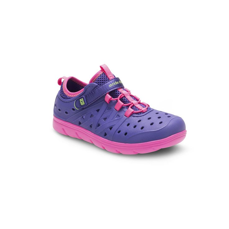Stride Rite Made 2 Play Phibian Girls' Water Shoes, Girl's, Size: 10 T, Purple