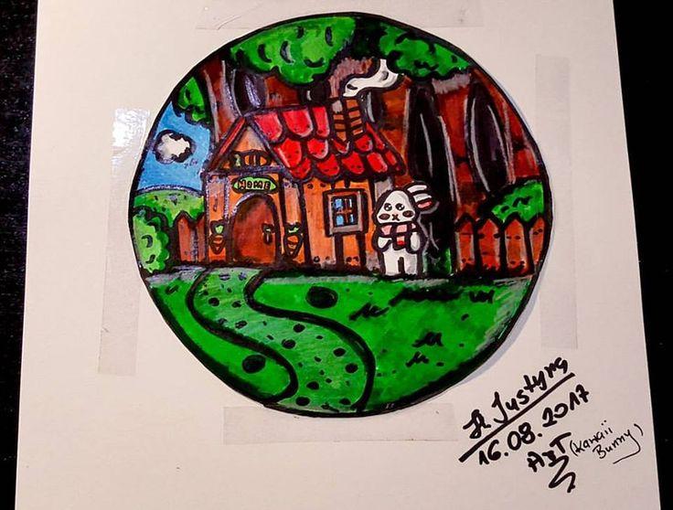 art, Home, bunny