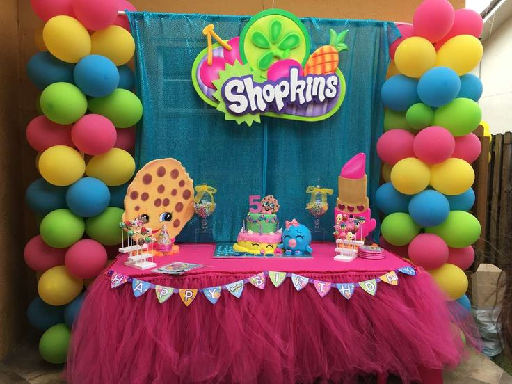 Jades Shopkins Birthday | CatchMyParty.com